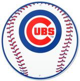 Chicago Cubs Tin Sign Tin Sign