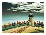 Rainbow Fleet Art by Lowell Herrero