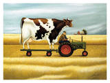 Ride to the Fair Print by Lowell Herrero