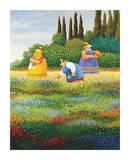 Raccolto di primavera Stampe di Lowell Herrero