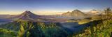 Indonesia, Bali, the Caldera of Gunung Batur Volcano and Danau Batur Lake Fotografie-Druck von Michele Falzone