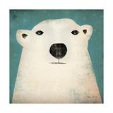 Polar Bear Giclée-Druck von Ryan Fowler