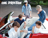 One Direction - Car Posters