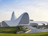 Azerbaijan, Baku, Heydar Aliyev Cultural Center Fotoprint av Jane Sweeney