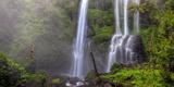 Indonesia, Bali, Central Mountains, Sekumpul Waterfall Lámina fotográfica por Michele Falzone