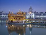 India, Punjab, Amritsar, the Harmandir Sahib,  Known As the Golden Temple Fotoprint av Jane Sweeney