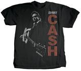 Johnny Cash - Guitar Slinger (premium) T-Shirts von Jim Marshall