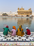 India, Punjab, Amritsar, the Harmandir Sahib,  Known As the Golden Temple Photographic Print by Jane Sweeney