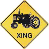 Tractor Xing Tin Sign Placa de lata