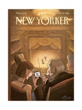 The New Yorker Cover - October 19, 1998 Reproduction giclée Premium par Harry Bliss