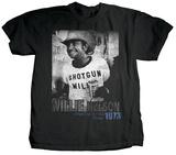 Willie Nelson - Shotgun Willie T-Shirts von Jim Marshall