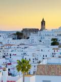 Spain, Andalucia, Cadiz Province, Vejer De la Frontera Photographic Print by Alan Copson