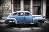 Classic American Car, Havana, Cuba Reproduction photographique par Jon Arnold