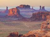 USA, Arizona, View Over Monument Valley from the Top of Hunt's Mesa Photographic Print by Michele Falzone
