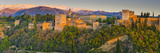 Spain, Andalucia, Granada Province, Granada, Alhambra Palace and Sierra Nevada Mountains Photographic Print by Alan Copson