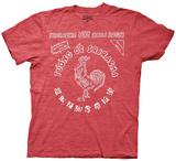 Sriracha - Bottle Label T-Shirts