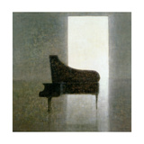 Piano Room, 2005 Giclee Print by Lincoln Seligman