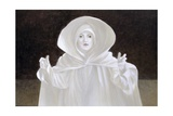 Venice Street Actor, 2005 Giclee Print by Lincoln Seligman