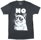 Grumpy Cat - No Camisetas