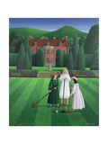 The Croquet Match, 1986 Giclee-trykk av Larry Smart