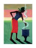 Cooking Rice, 2001 Reproduction procédé giclée par Tilly Willis