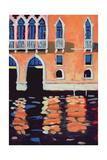 Palazzo, Venice Giclee Print by Sara Hayward
