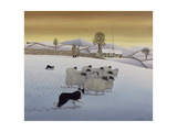 The Fells in Winter, 1984 Giclée-tryk af Larry Smart