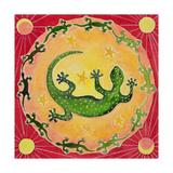 Gecko, 1998 Giclee-trykk av Vivika Alexander
