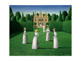 The Croquet Match, 1978 Giclee-trykk av Larry Smart