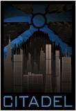 The Citadel Retro Travel Plakater