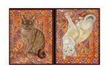 Burmese Carpet-Patch, 1997 Giclee-trykk av  Ditz