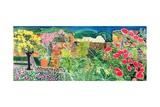 Convent Gardens, Antigua, 1993 Giclée-tryk af Hilary Simon