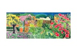 Convent Gardens, Antigua, 1993 Impressão giclée por Hilary Simon