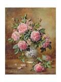 A Medley of Pink Roses Reproduction procédé giclée par Albert Williams