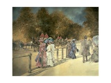 Summer in Hyde Park Giclee Print by Peter Miller