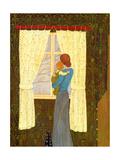 Mor og barn|Mother and Child Giclee-trykk av  Ditz