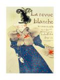 Cover of La Revue Blanche, 1895 Lámina giclée por Henri de Toulouse-Lautrec
