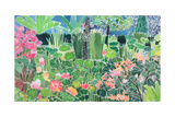 Lotus Pond, Ubud, Bali, 1997 Giclee Print by Hilary Simon