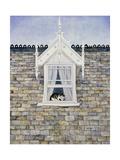 St.Helier Dormer Cat Giclee-trykk av  Ditz