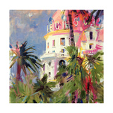 Riviera Balcony, 2002 Giclee Print by Peter Graham