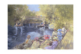 Botanic Gardens, Southport, 1991 Giclee Print by Peter Miller