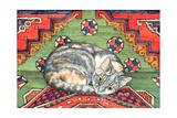 Third Carpet-Cat-Patch Giclee-trykk av  Ditz