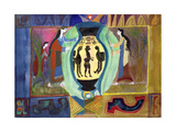 Grecian Ceremonial, from the Greek Experience Series Giclee Print by Michael Chase