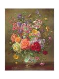 A Summer Floral Arrangement, 1996 Giclée-Druck von Albert Williams