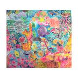 Tropical Coral, 1993 Giclée-tryk af Hilary Simon