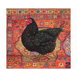 Black Carpet Chicken, 1995 Reproduction procédé giclée par  Ditz