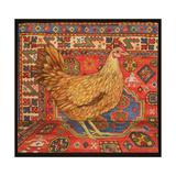 Brown Carpet Chicken, 1995 Giclee-trykk av  Ditz