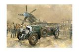 Bentley  e Spitfire Stampa giclée di Peter Miller