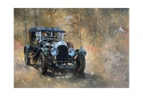 3 Litre Bentley at Cottesbrooke Giclee Print by Peter Miller