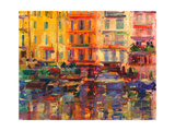 Grand Harbour, Cannes Giclee Print by Peter Graham